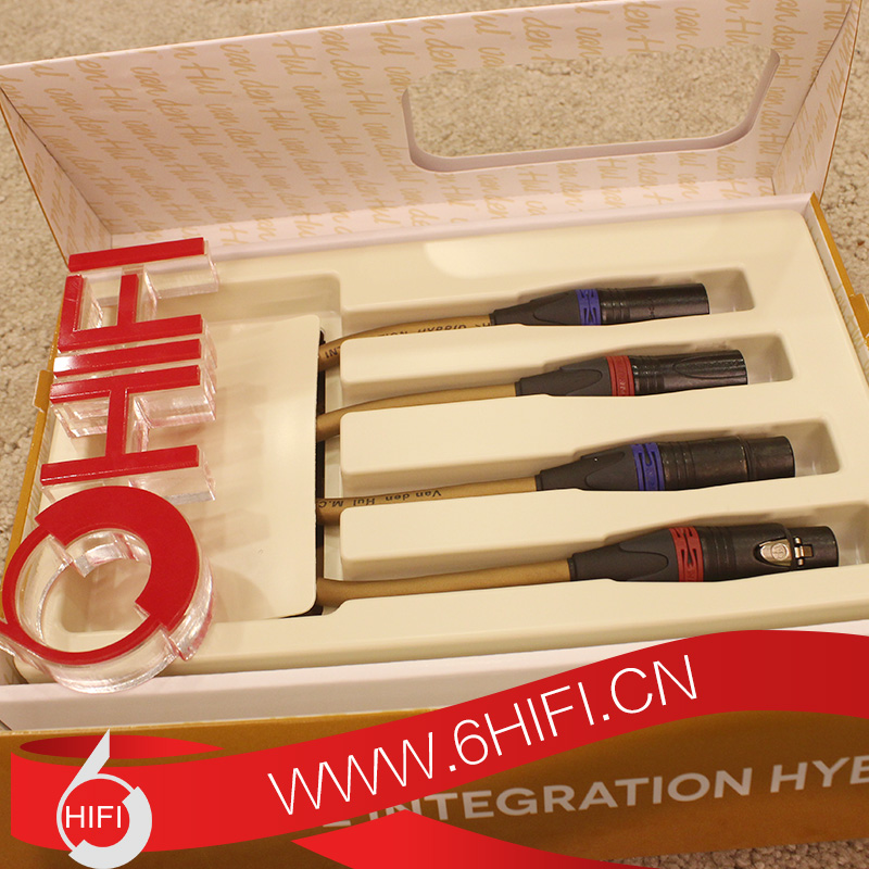范登豪VDH THE INTEGRATION HYBRID XLR 1.5米平衡信号线