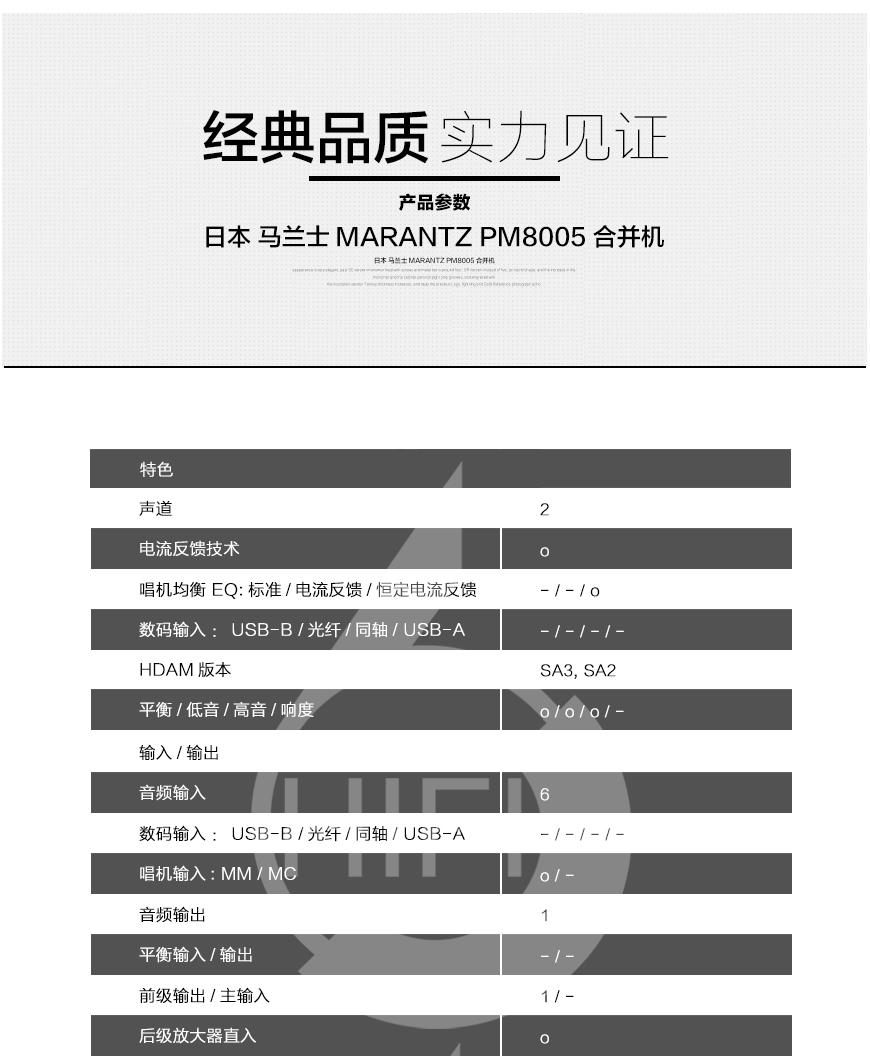 马兰士Marantz PM8005,马兰士 PM8005,Marantz PM8005,马兰士合并机