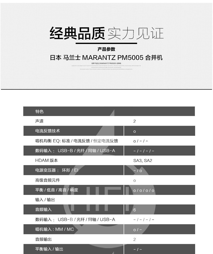 马兰士Marantz PM5005,马兰士 PM5005,Marantz PM5005,马兰士合并机