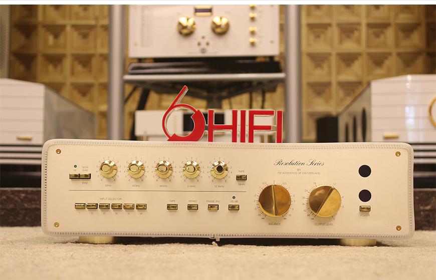 FM Acoustics 268,FM Acoustics前级,瑞士FM Acoustics功放