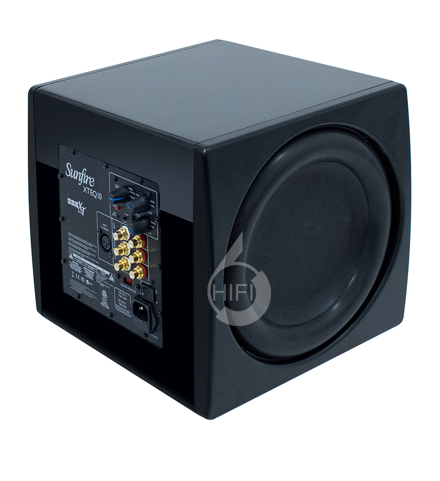 骄阳 XTEQ 10,Sunfire XTEQ 10,骄阳有源低音炮