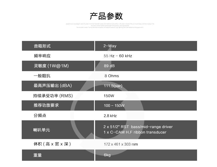 猛牌Gold GX C150,Monitor Audio Gold GX C150,猛牌金系列中置音箱