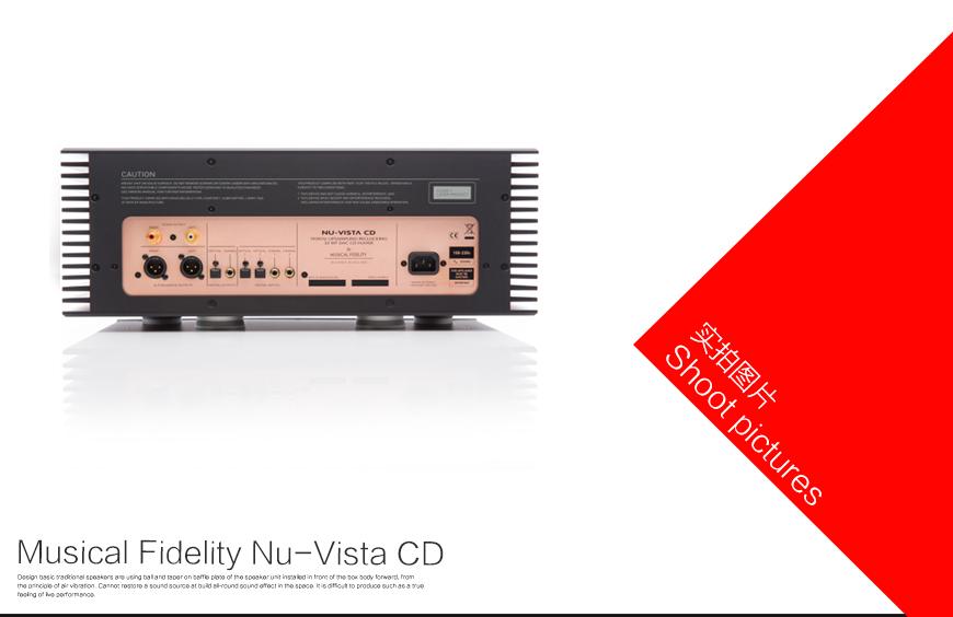 音乐传真 Nu-Vista CD,Musical Fidelity Nu-Vista CD,音乐传真CD机