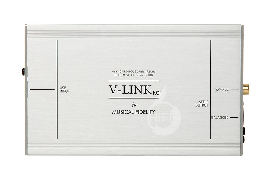 音乐传真 V-LINK192,Musical Fidelity V-LINK192,音乐传真异步转换器