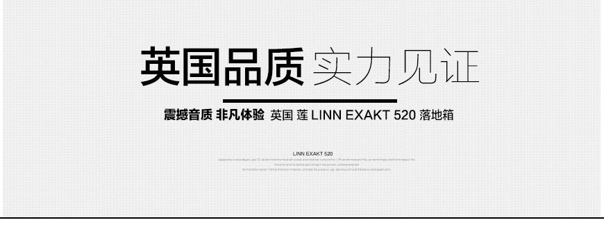 莲EXAKT 520,Linn EXAKT 520,莲落地箱