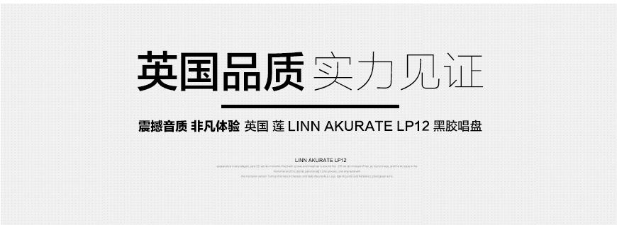 莲Akurate LP12,Linn Akurate LP12,莲黑胶唱盘
