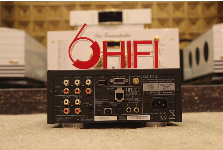音乐传真 M1 CLiC,Musical Fidelity M1 CLiC,音乐传真解码播放器