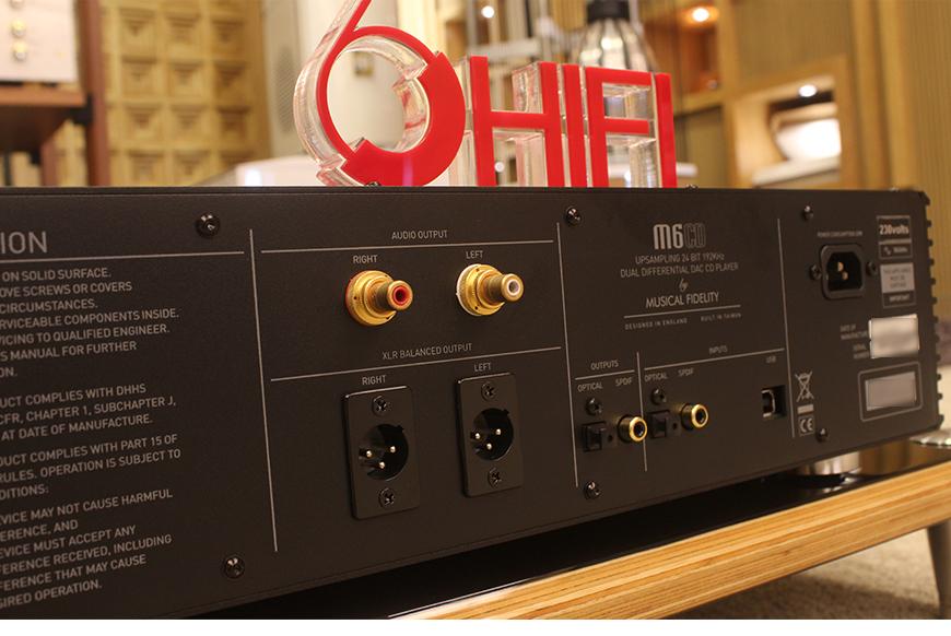 音乐传真M6,Musical Fidel M6,音乐传真CD播放机