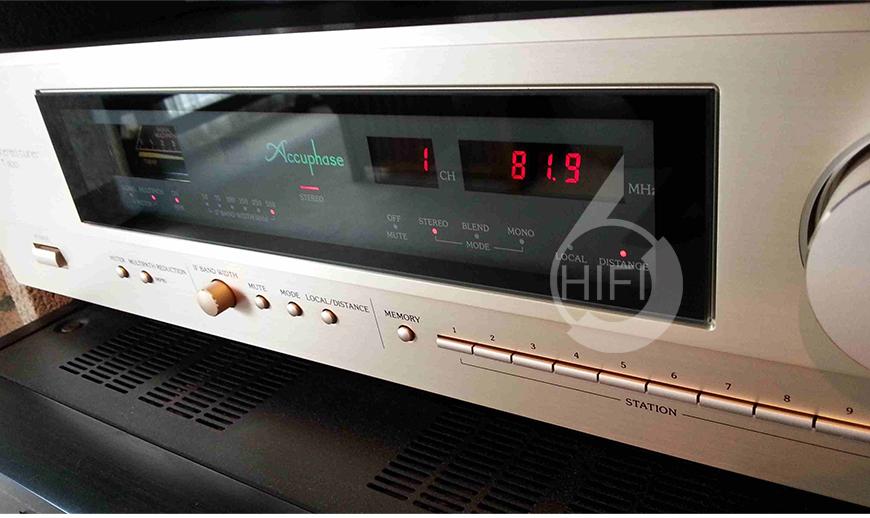 金嗓子Accuphase T-1100,Accuphase T-1100,金嗓子FM/AM收音座