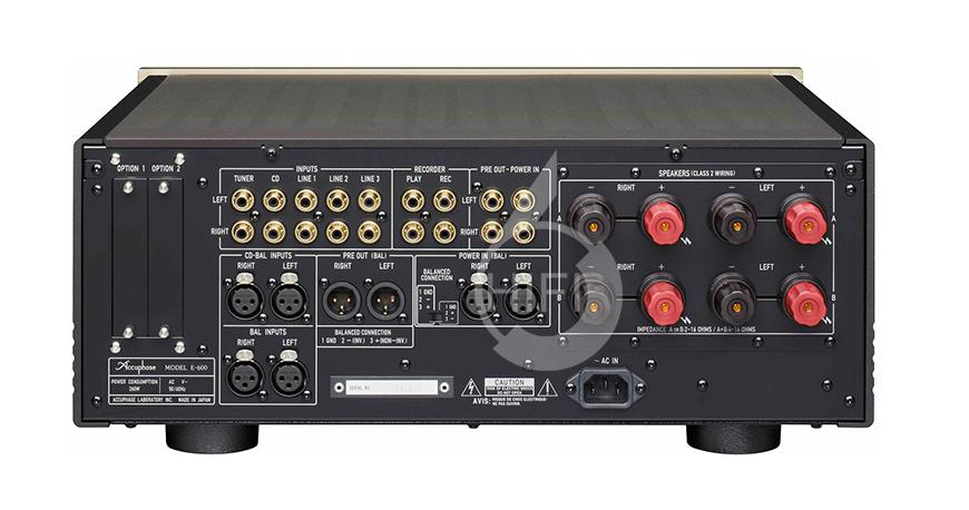 金嗓子E-600,Accuphase E-600,金嗓子合并功放