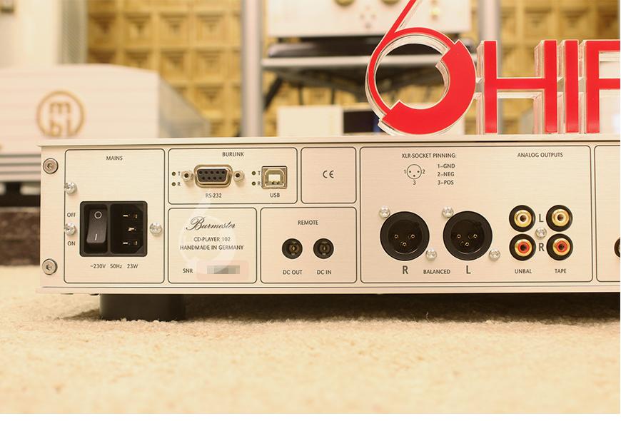 柏林之声102,Burmester 102,柏林之声CD播放器