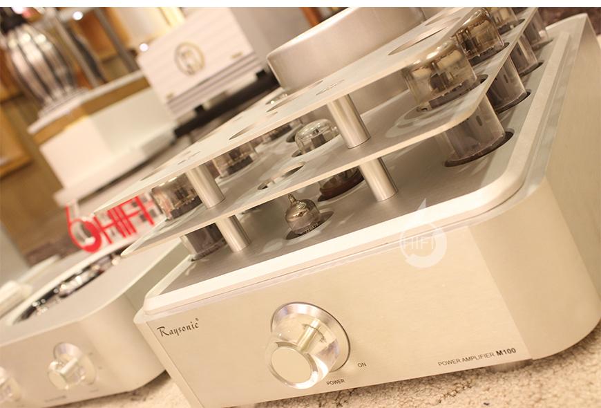 加拿大雷索尼,Raysonic M100,真空管单声道后级,电子管功放