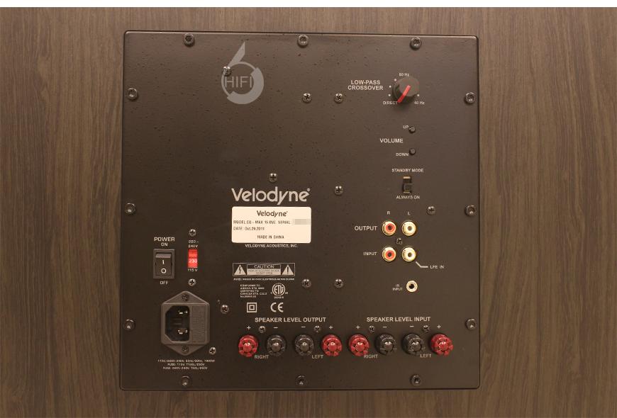威力登 EQMax 15,Velodyne EQMax 15,威力登低音炮