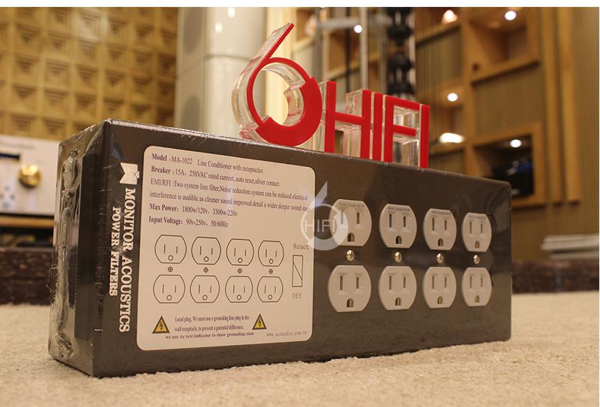 台湾静神,Monitor Acoustics,MA-1022GR,电源滤波器