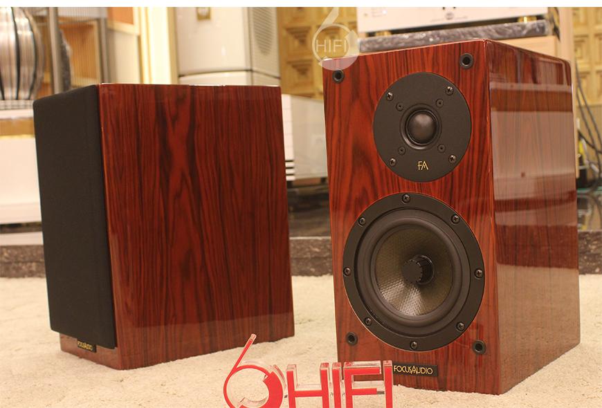 FocusAudio FS 68LE,枫叶之声 FS 68LE 书架箱,加拿大枫叶之声FocusAudio,FocusAudio枫叶之声 FS 68LE 书架箱