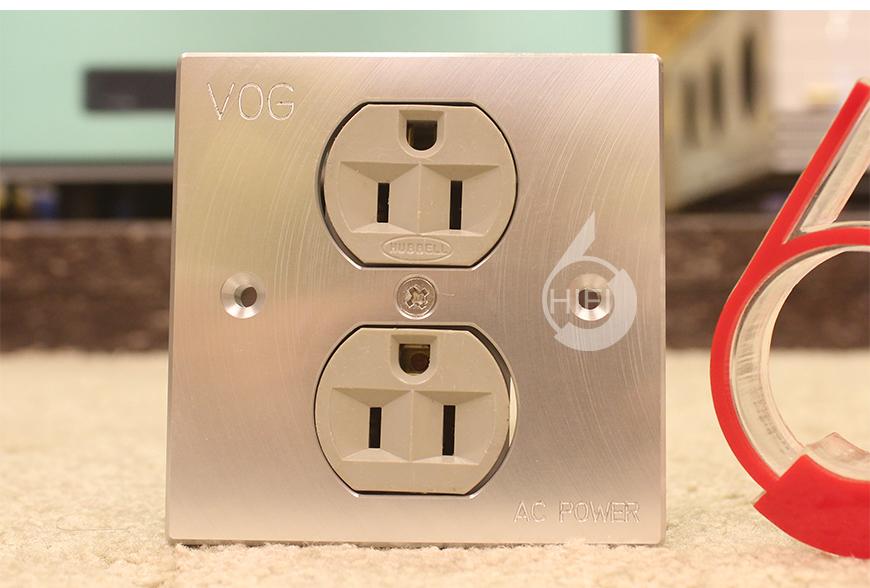 香港VOG,VOG 两位面板墙插,音响电源面板