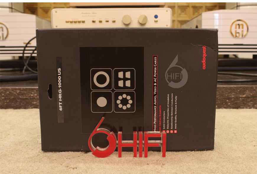 美国线圣,线圣AudioQuest,AudioQuest NRG-1000,电源线,音响电源线
