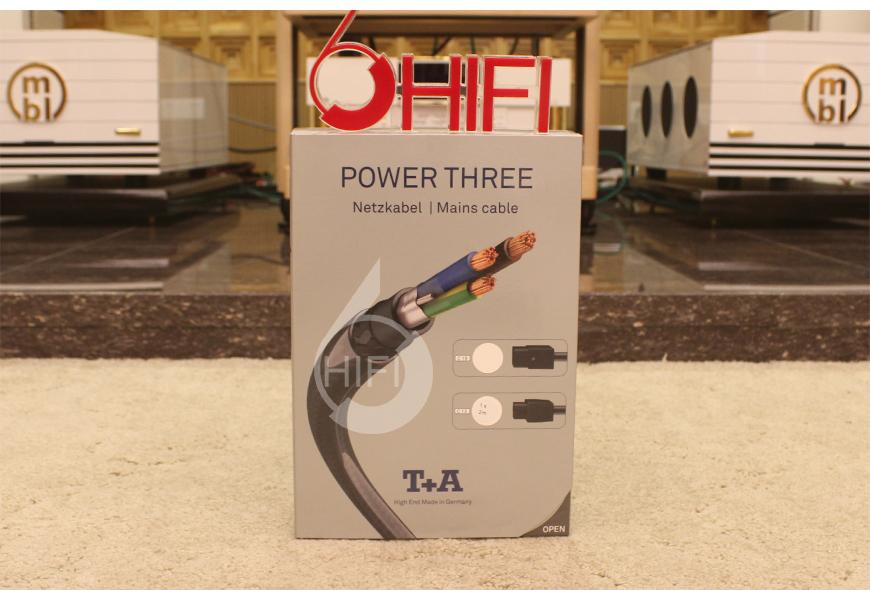 德国T+A POWER THREE 3号 C13电源线,音响电源线