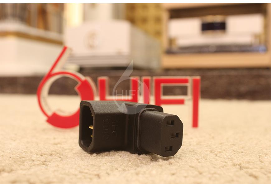 美国线圣,线圣AudioQuest,AudioQuest IEC90°/1 IEC90°/2 转换头,电源转换,插头转换器