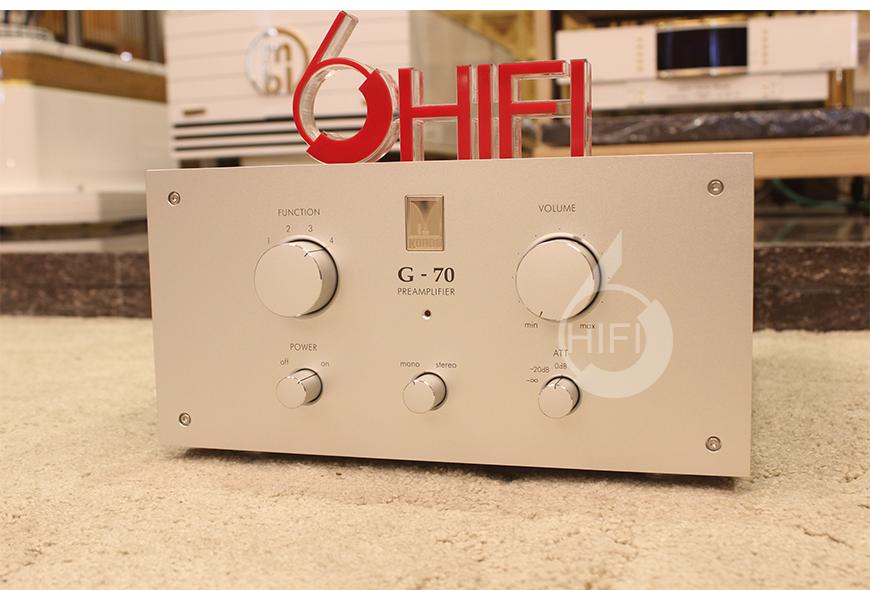 日本Kondo G-70 真空管前级,日本Kondo HIFI前级功放