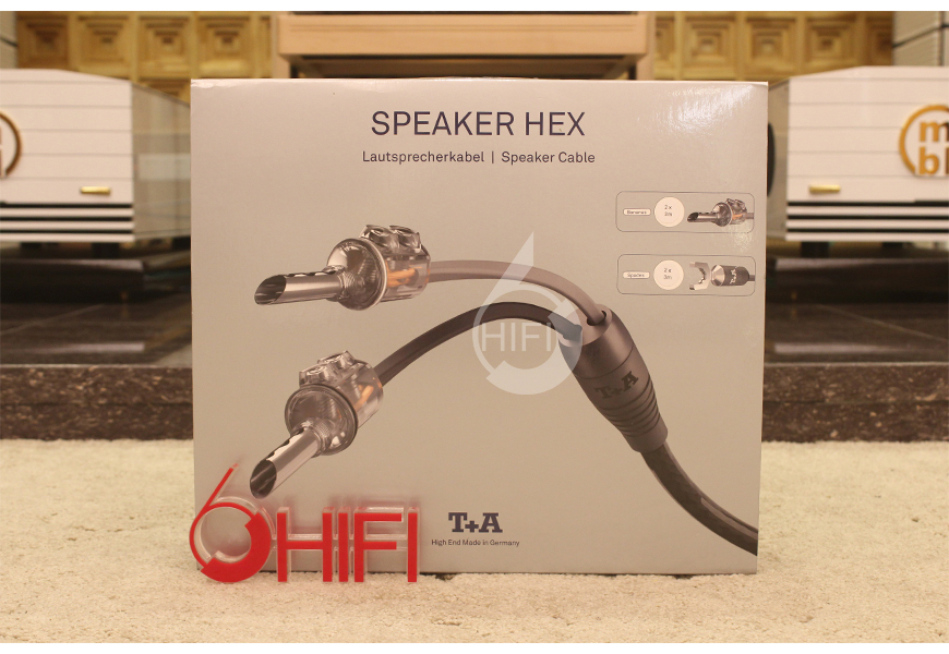 德国T+A SPEAKER HEX 香蕉头转叉头音箱线,德国T+A 喇叭线