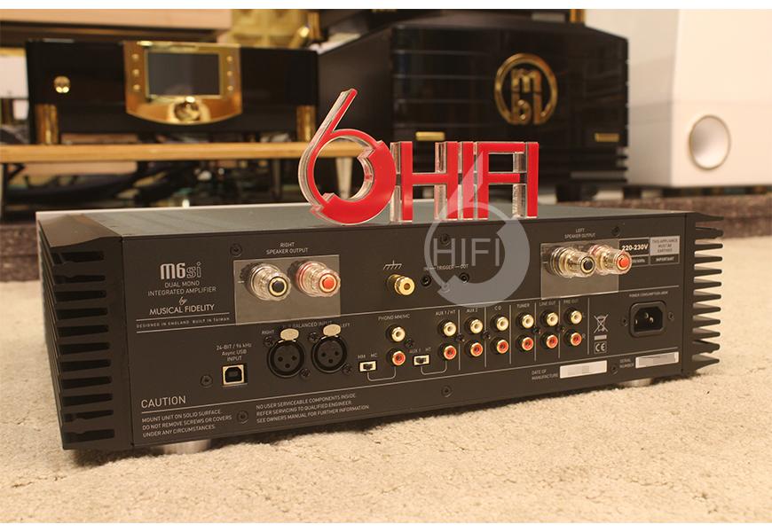 音乐传真M6si,Musical Fidelity M6si,音乐传真合并机