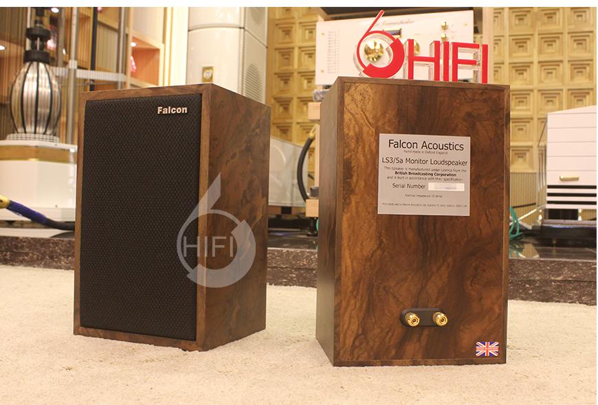 Falcon Acoustics LS3/5a,英国隼Falcon Acoustics LS3/5a 胡桃树根木书架音箱,英国隼Falcon Acoustics LS3/5a 音箱