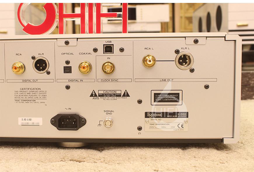 Esoteric K-03X,日本第一极品Esoteric K-03X SACD播放器,日本第一极品Esoteric K-03X CD播放器,日本第一极品Esoteric CD机
