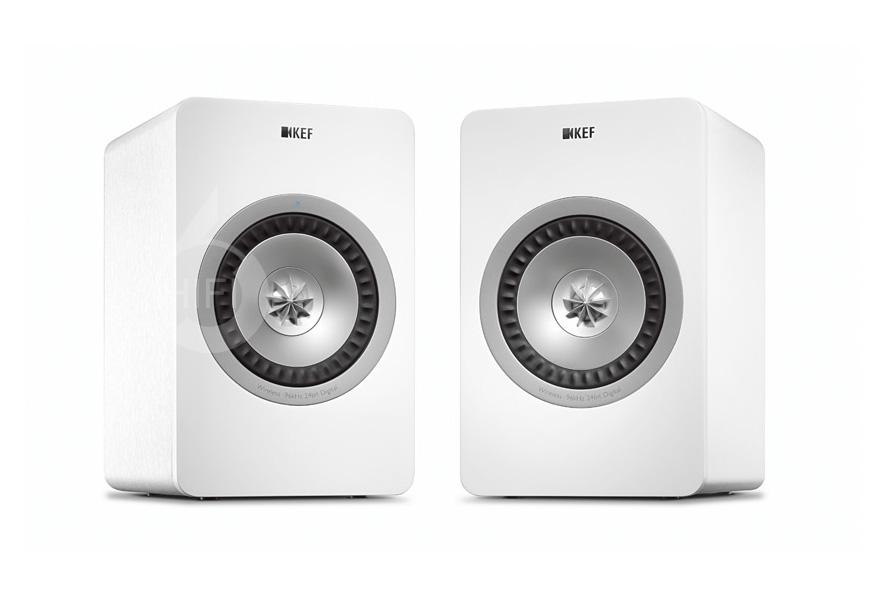 KEF X300A Wireless,英国KEF X300A Wireless 有源同轴单元书架音箱,英国KEF HIFI音箱