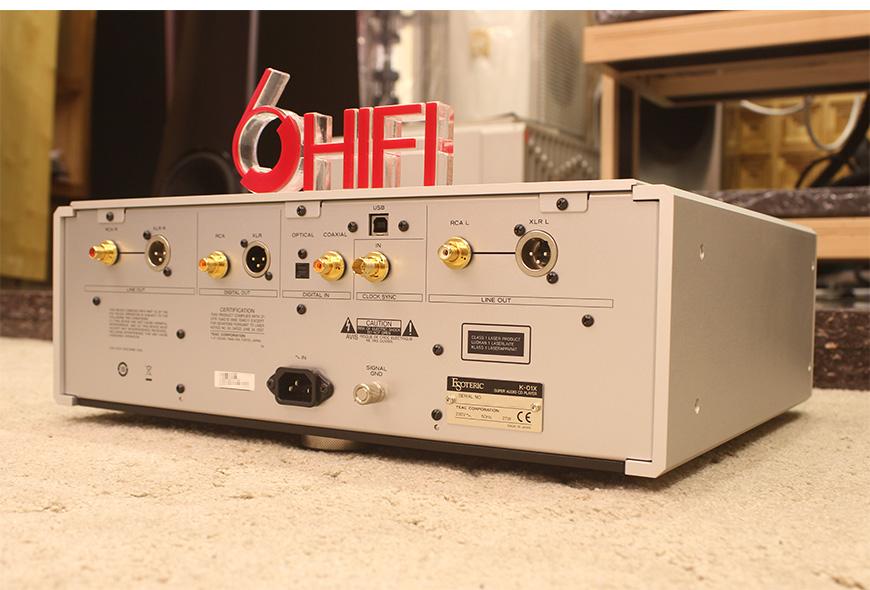 Esoteric K-01X,日本第一极品Esoteric K-01X CD播放器,日本第一极品Esoteric HIFI播放器