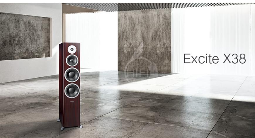 Dynaudio Excite X38,丹麦丹拿Dynaudio 激扬系列Excite X38 落地音箱,丹麦丹拿Dynaudio HIFI音箱