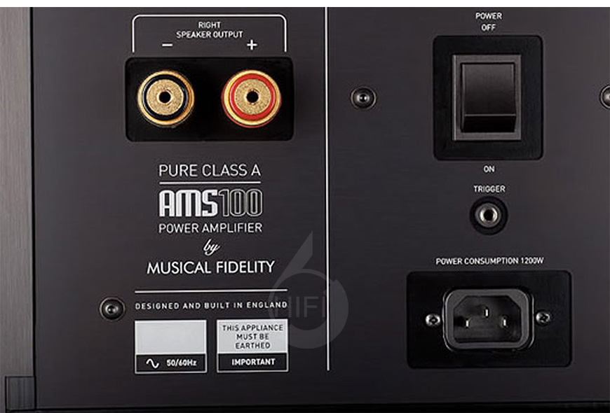 Musical Fidelity AMS100,英国音乐传真Musical Fidelity AMS100 纯甲类后级,英国音乐传真Musical Fidelity HIFI功放