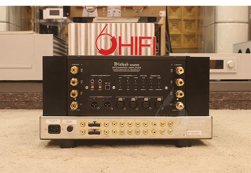 McIntosh MA8000,美国麦景图McIntosh MA8000 合并机,美国麦景图McIntosh HiFi功放