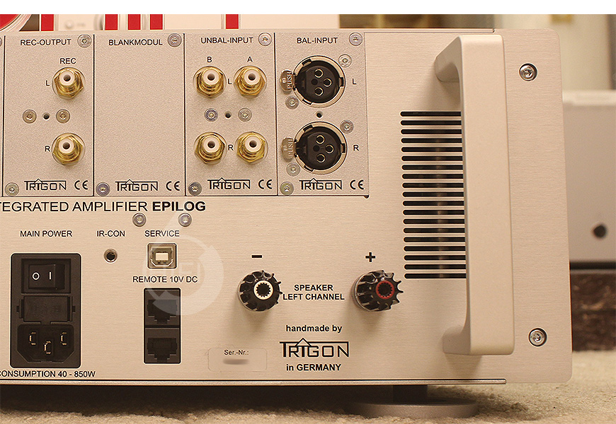 Trigon Epilog,德国精工Trigon Epilog 合并机,德国精工Trigon HIFI功放