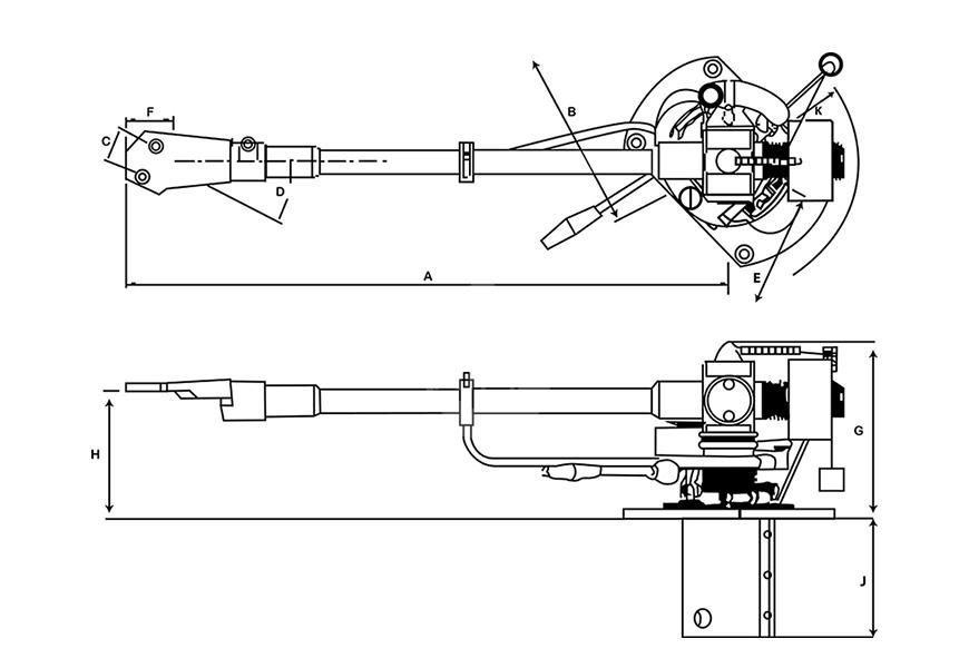 SME Audio SERIES M2-9,英国SME Audio SERIES M2-9 黑胶唱臂,英国SME Audio LP唱臂