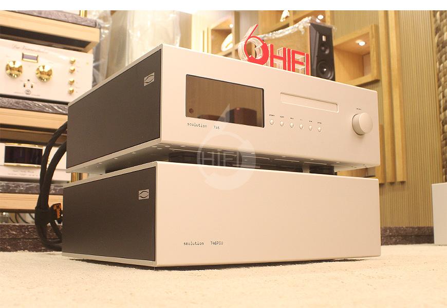 Soulution 746+,Soulution 746+PSU,登峰Soulution 746+ CD/SACD机,登峰Soulution 746+PSU 独立电源