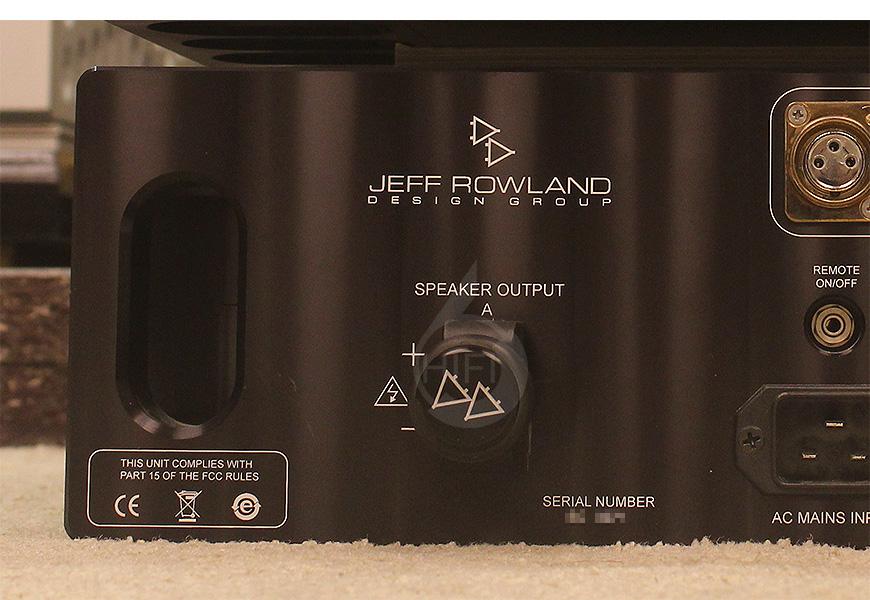 杰夫乐林 725 单声道后级,Jeff Rowland 725,Jeff Rowland HIFI功放