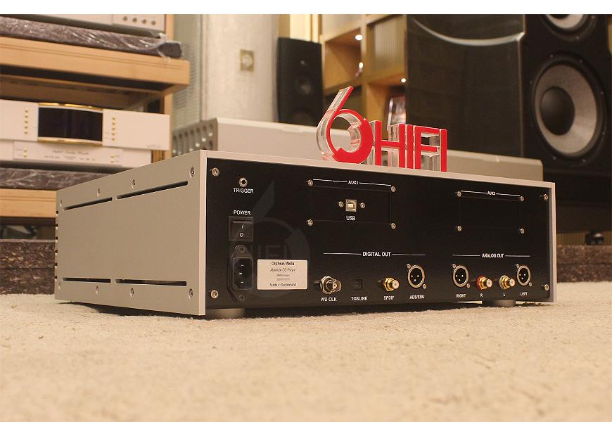 天琴 Absolute CD机,Orpheus Absolute CD播放器,天琴Orpheus CD机