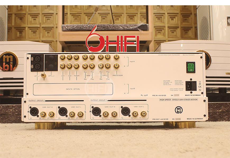 MBL 6010D,MBL参考级前级,德国MBL hifi功放