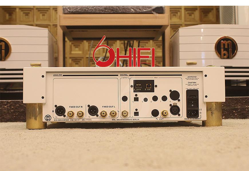 MBL 1611F,德国MBL 解码器,MBL旗舰数码解码