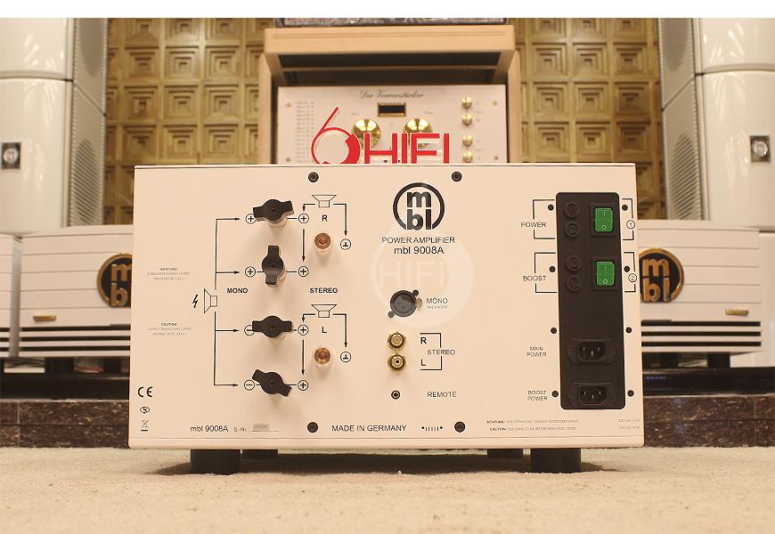 MBL 9008A,MBL 9008A立体声单声道后级,德国MBL HIFI功放