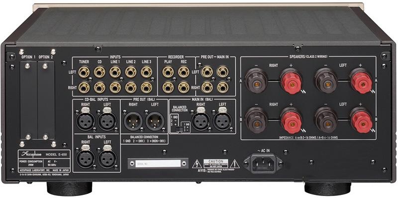 日本accuphase金嗓子e-650全新功放登场