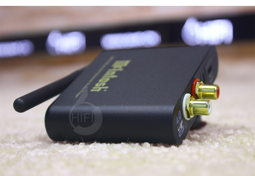 麦景图MB10,McIntosh MB10,蓝牙解码器