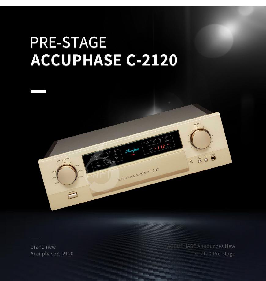 金嗓子C-2120,Accuphase C-2120,金嗓子功放
