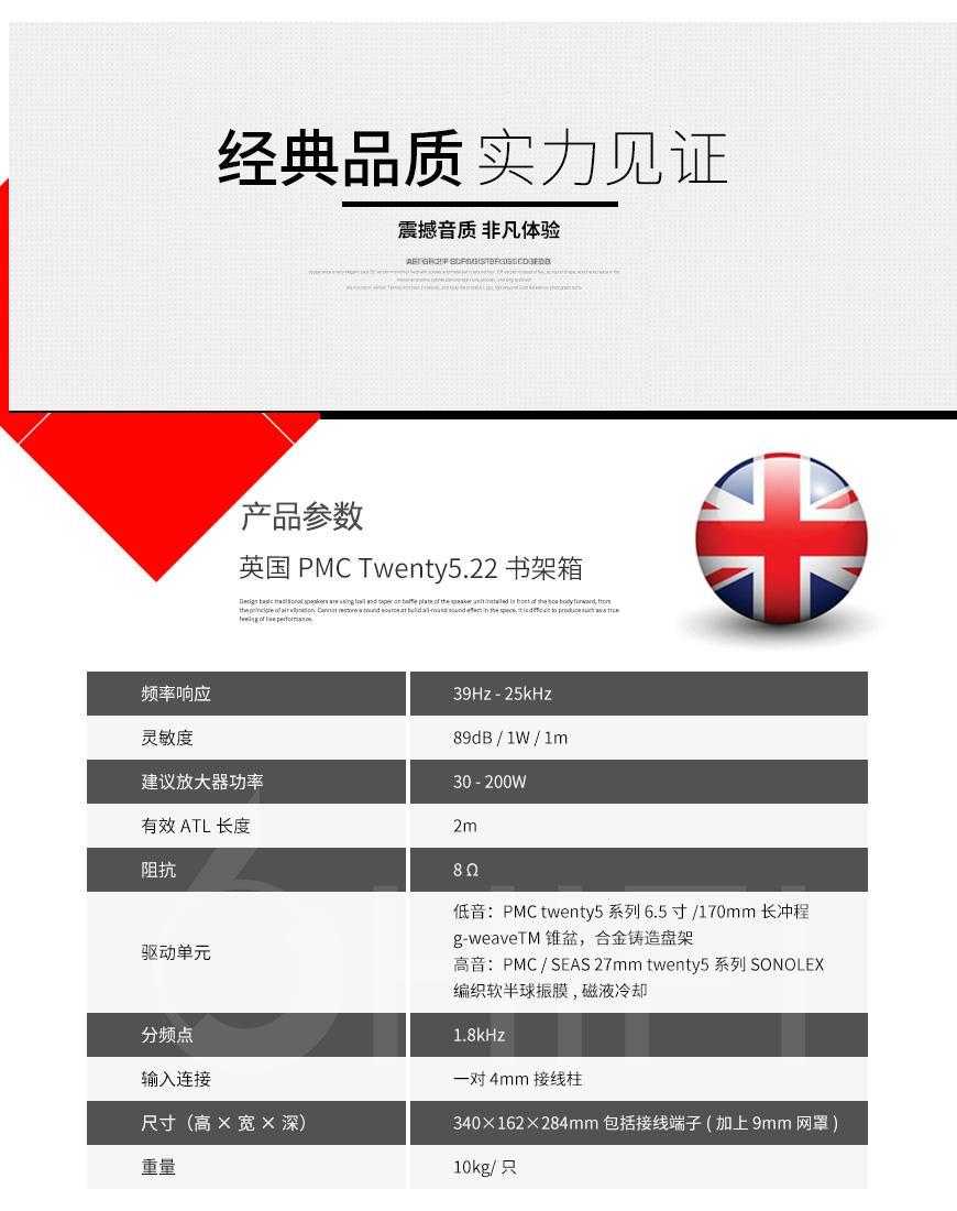 PMC Twenty5.22,PMC 书架箱,PMC 音箱