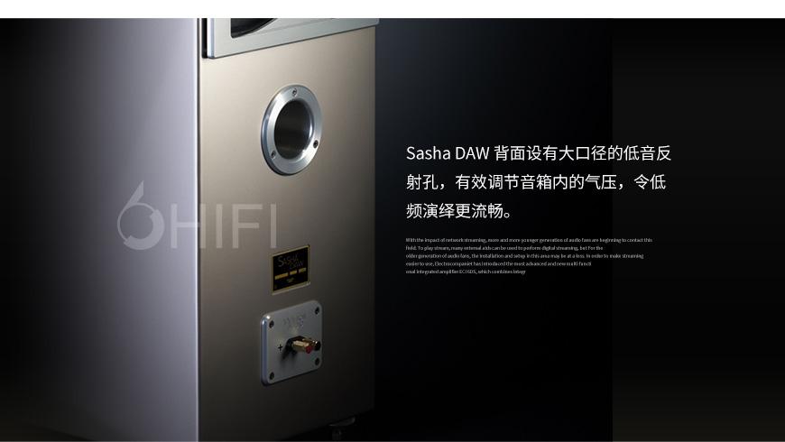 威信 Sasha DAW,Wilson Audio Sasha DAW,威信音箱