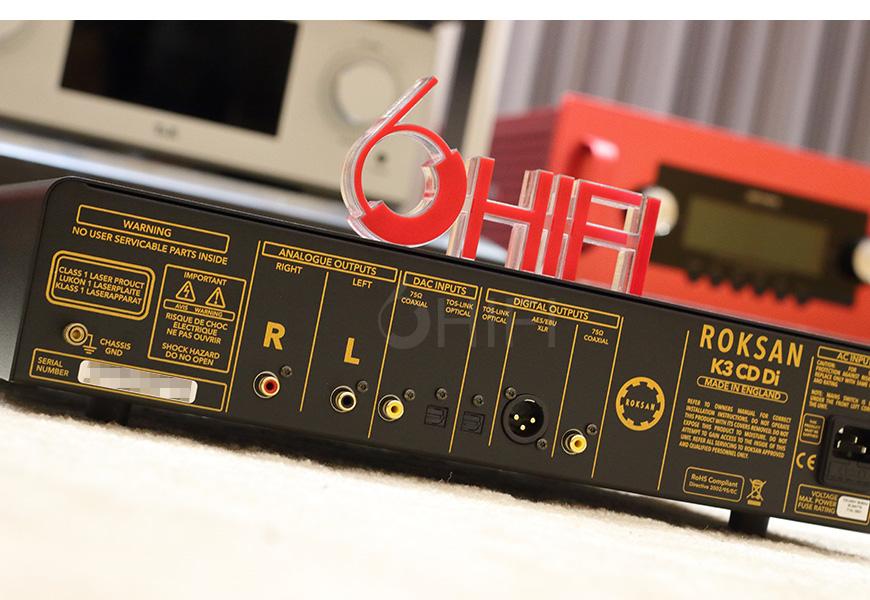 乐圣K3 DI,Roksan K3 DI,乐圣CD机