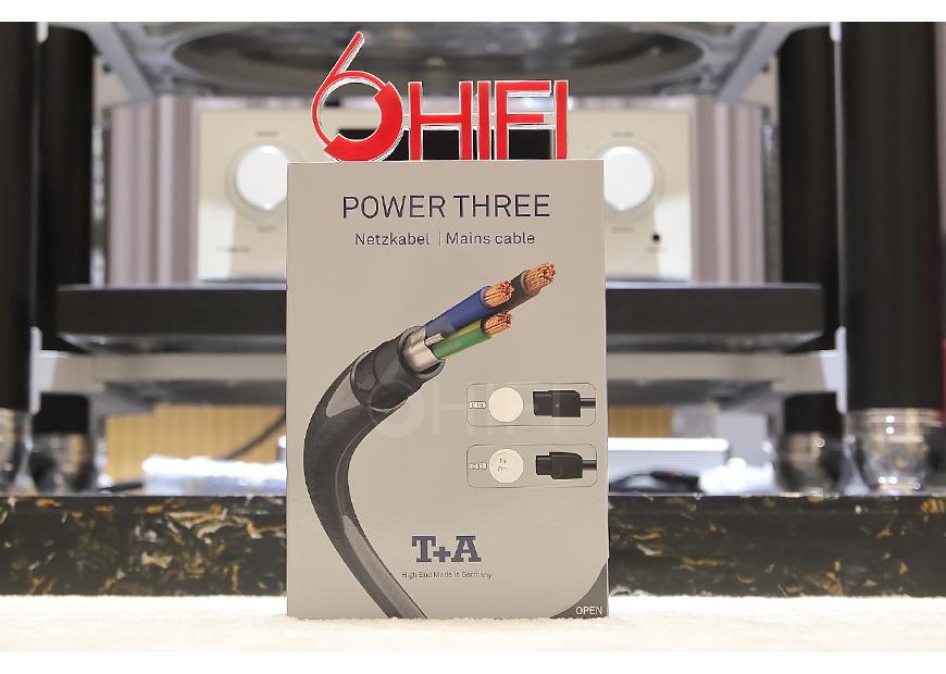 德国 T+A POWER THREE 3号 C13电源线,音响电源线