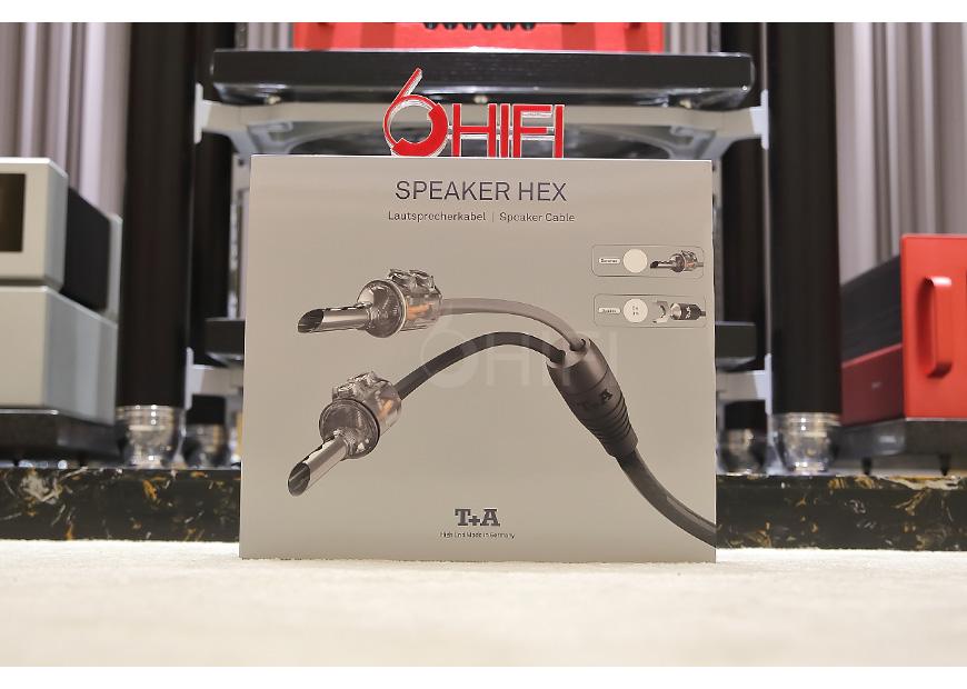 德国 T+A SPEAKER HEX 叉头音箱线,德国 T+A 喇叭线