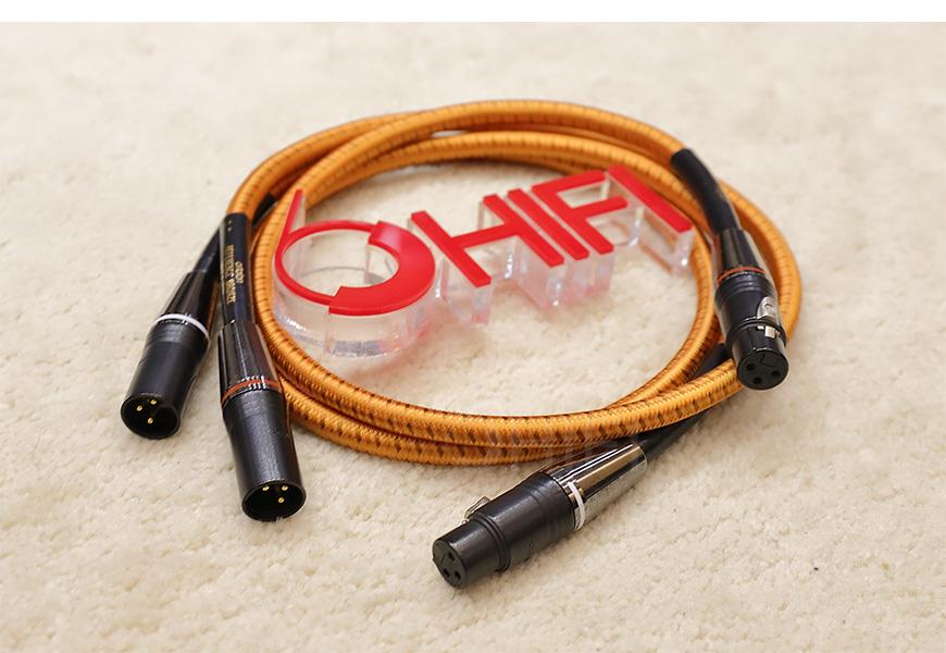 丹麦 高度风 Ortofon Reference interconnect Bronze cable XLR平衡信号线,高度风 Reference interconnect Bronze cable XLR平衡信号线,丹麦 Ortofon Reference interconnect Bronze cable XLR,丹麦 高度风